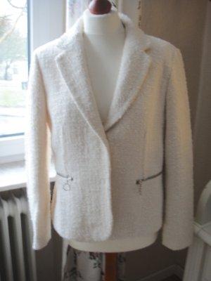 Zara Tweed blazer room-wolwit Katoen
