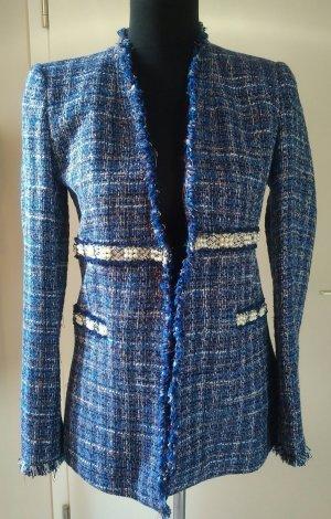 Zara Tweed Jacke/Blazer Gr. M