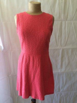 Zara Tweed Kleid fuchsia Gr. L