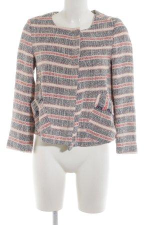 Zara Tweedblazer Streifenmuster Casual-Look