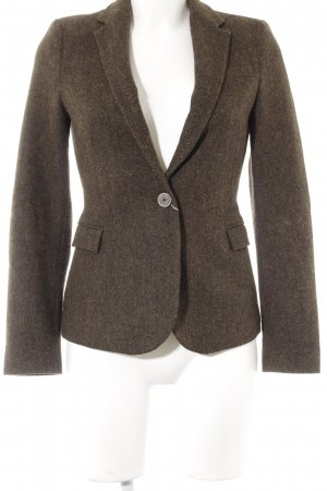 Zara Blazer en tweed brun style d'affaires