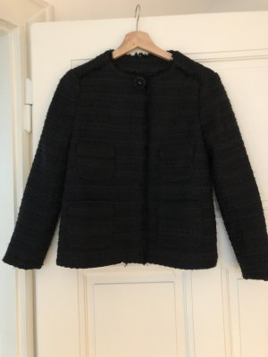 Zara Tweed blazer zwart-zilver