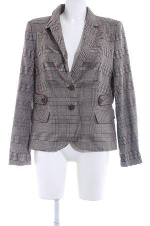 Zara Tweed blazer geruite print vintage uitstraling