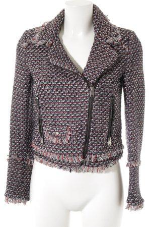 Zara Tweed blazer gestippeld zakelijke stijl