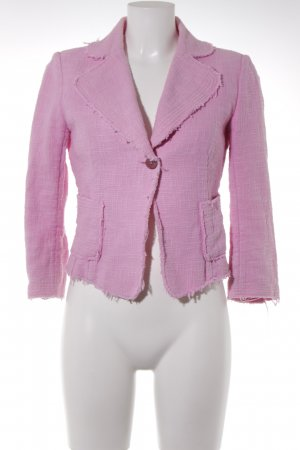 Zara Tweedblazer rosa klassischer Stil