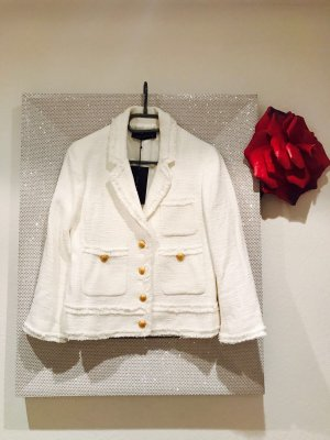 Zara Blazer in tweed bianco