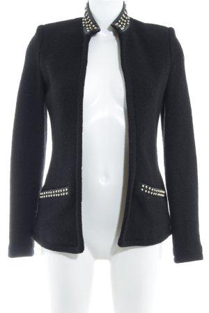 Zara Giacca mezza stagione nero stile casual