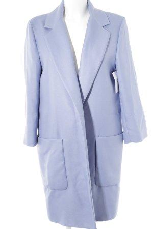 Zara Between-Seasons-Coat azure elegant