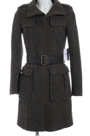 Zara Manteau mi-saison motif à carreaux style d'affaires