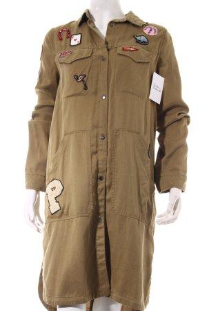 Zara Übergangsmantel khaki Military-Look