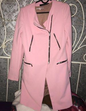 Zara Übergangsmantel Pink