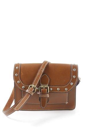 Zara Borsa a spalla marrone stile casual