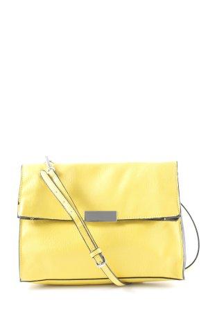 Zara Borsa a spalla giallo stile casual