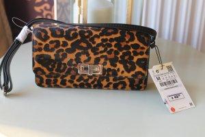 Zara Crossbody bag black-brown