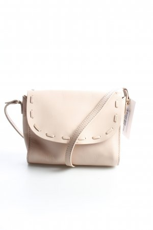Zara Crossbody bag light pink simple style