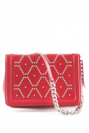 Zara Crossbody bag red party style