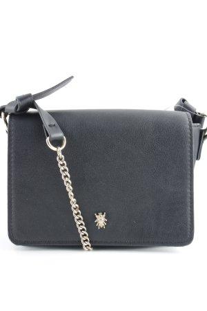 Zara Sac bandoulière noir-doré style festif