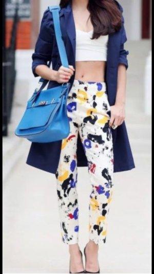 Zara Used Look ausgefallene Hose Chino Bund