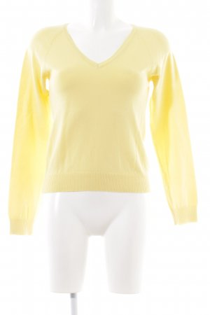 Zara V-Neck Sweater primrose casual look