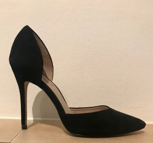 Zara Veloursleder Pumps