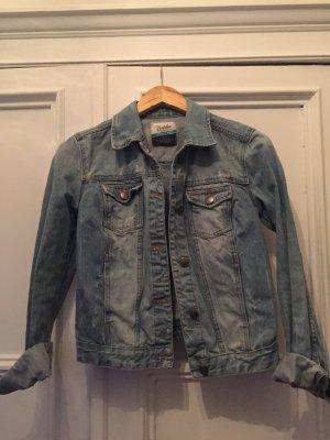Zara verwaschene Jeans Jacke