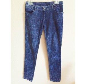 Zara verwaschene Skinny Jeans