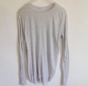 Zara Vokuhila Shirt // mit Schlitzen seitlich Longshirt Maxishirt L 38 40 42