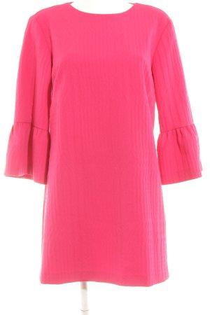 Zara Flounce Dress magenta elegant