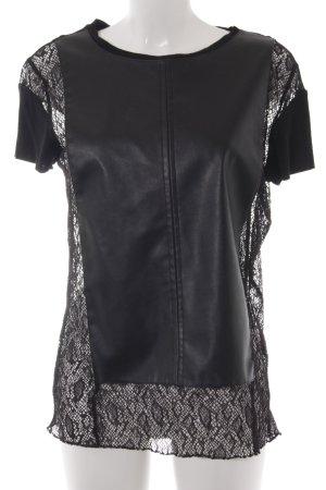Zara W&B Collection T-Shirt Materialmix