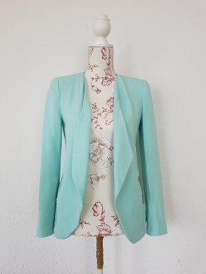 Zara wasserfall blazer Jacke Pastel sommer