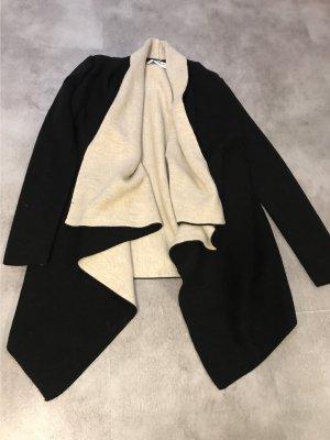 Zara Cárdigan negro-beige