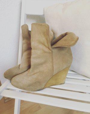 Zara Wedges Booties Blogger Stiefel Stiefeletten Gr.39