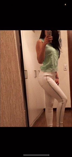 Zara weiße Hose