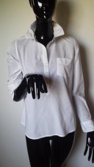 ZARA, weiße, leichte Hemdbluse, Gr.36