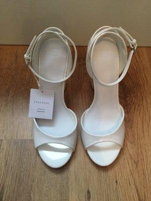 Zara Sandales blanc