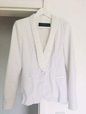 Zara, weißer Blazer, Grösse S/M, abgesetzter Kragen,