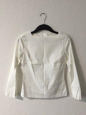 Zara weißes Oberteil XS
