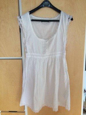 ZARA weißes Sommer Kleid- nie getragen