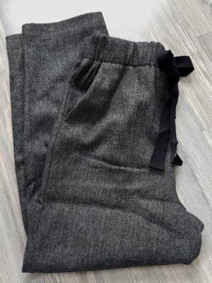 Zara Wollen broek veelkleurig