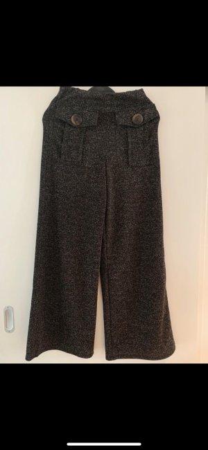 Zara Woolen Trousers brown-black brown