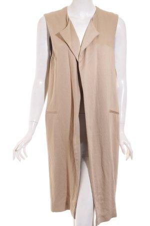 Zara Weste beige-schwarz Street-Fashion-Look