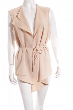 Zara Vest cream simple style