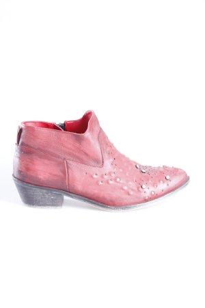 Zara Western-Stiefeletten Used Look