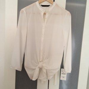 Zara white shirt, new wirh tag.