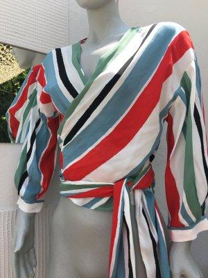 Zara Camicetta aderente multicolore
