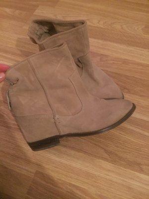 Zara Wildleder Boots