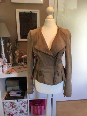 Zara Leather Jacket multicolored