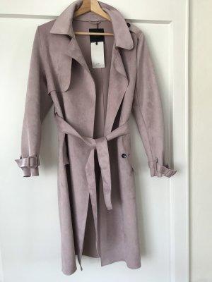 Zara Trench Coat pink-dusky pink