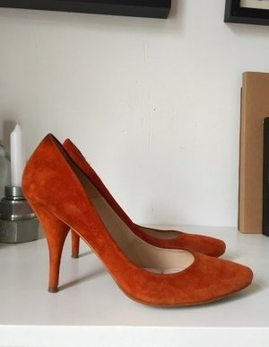 Zara Wildleder Pumps Leder higheels