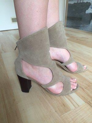 Zara Wildleder Sandaletten